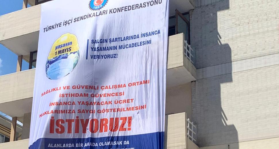 """TÜRK-İŞ: """"1 Mayıs Emek ve Dayanışma Günü Bu Yıl Yine Sosyal Medya ve Dijital Platformlarda Kutlanacak"""""""