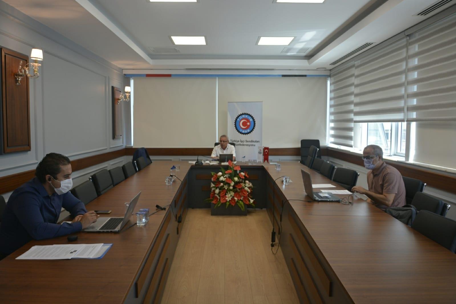 Türkiye AB Karma İstişare Komitesi Toplantısı Yapıldı