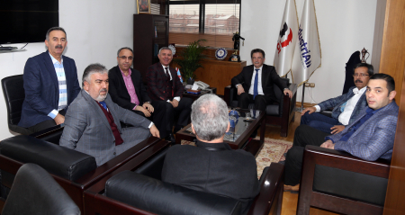 KOOP-İŞ GENEL BAŞKANI EYÜP ALEMDAR'DAN TES-İŞ SENDİKASI'NA ZİYARET