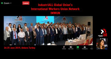 INDUSTRIALL KÜRESEL NÜKLEER ENERJİ SEKTÖRÜ TOPLANTISI YAPILDI