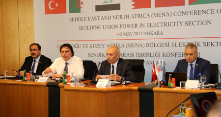 Orta Doğu ve Kuzey Afrika-MENA Bölgesinde Elektrik Sektörü İrtibat Ağı  TES-İŞ Genel Merkezinde Gerçekleştirilen Konferans ile Kuruldu