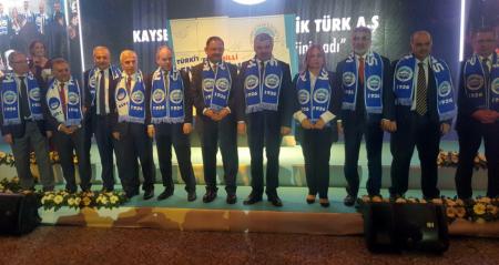 """KCETAŞ'IN 90. YILI KAYSERİ'DE KUTLANDI: """"TÜRKİYE'DE MİLLİ ENERJİ'NİN BAŞLANGICI"""