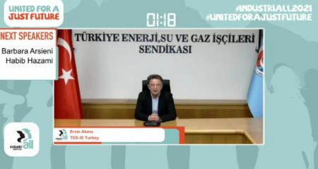 INDUSTRIALL KÜRESEL SANAYİ İŞÇİLERİ SENDİKASI 3. DÜNYA KONGRESİ TOPLANDI