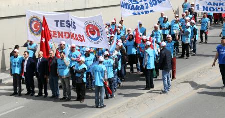 TÜRK-İŞ 1 MAYIS EMEK VE DAYANIŞMA GÜNÜNÜ HATAY'DA KUTLAYACAK....